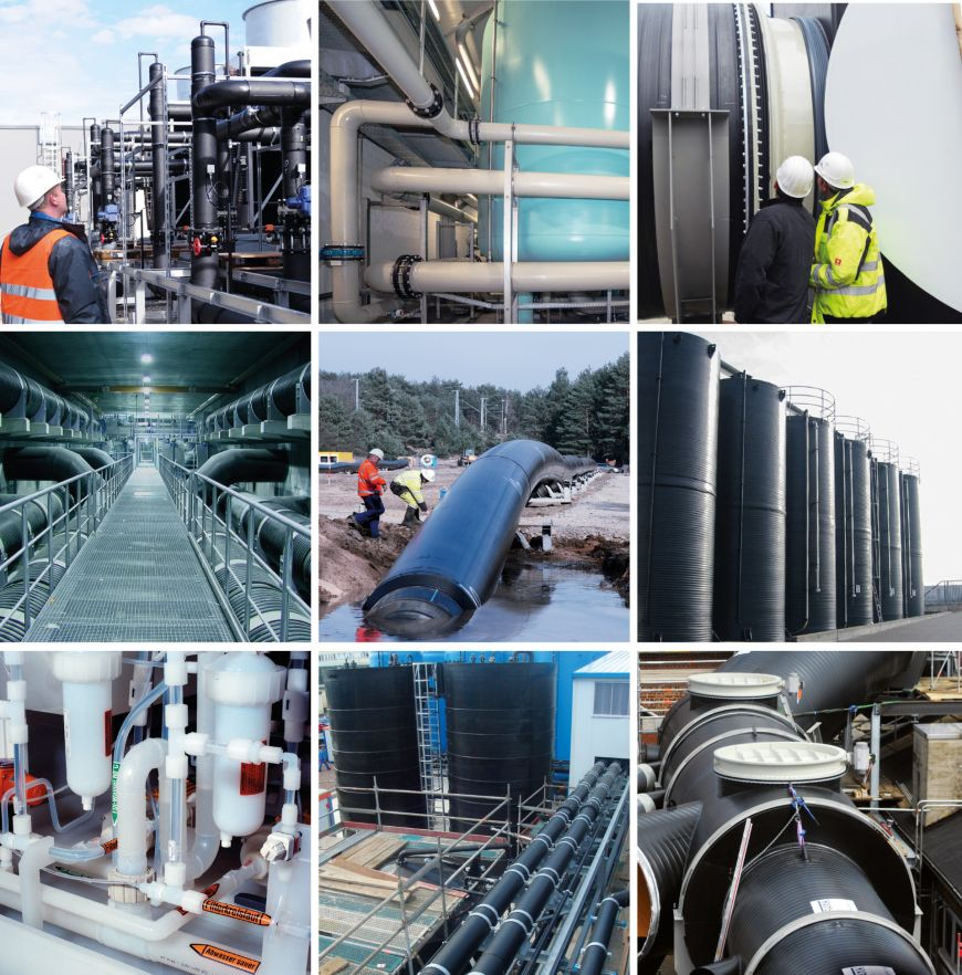 Industrial Pipe Systems